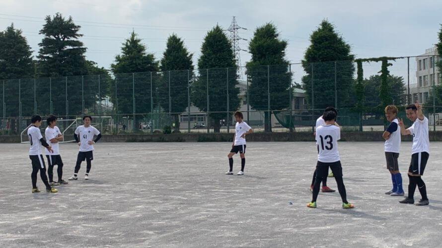練習試合【2019/6/1@狛江市民グラウンド】